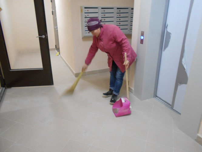 Нормативы: уборка подъездов многоквартирных домов